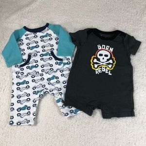 2 boys one piece 3 months